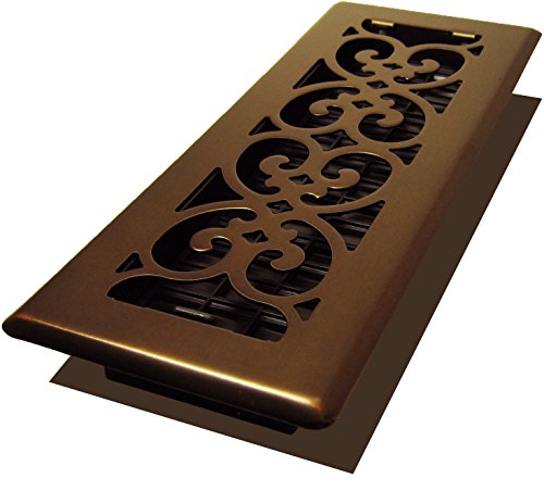 Decor Grates SPH310-RB Scroll Plated Register, 3-Inch by 10-Inch, Rubbed Bronze