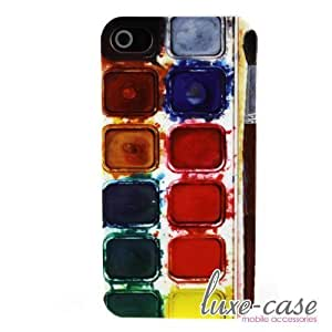 Watercolor Palette iPhone 4 Case Art Paint Deco