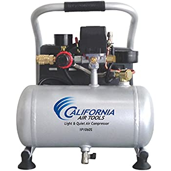 California Air Tools CAT-1P1060S Light & Quiet Air Compressor