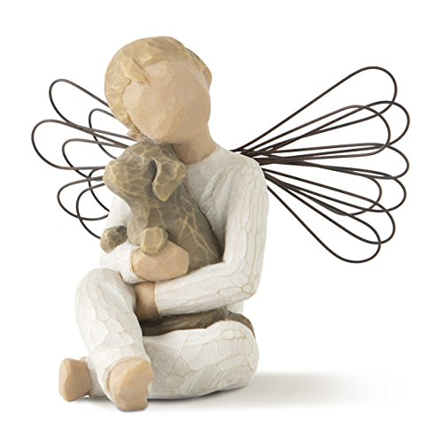 (Willow Tree Angel of Comfort, sculpted hand-painted figure)
