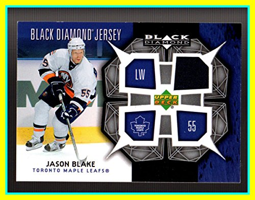 (83e) 2007-08 Black Diamond Jerseys #BDJBL Jason Blake GAME USED JERSEY New York Islanders
