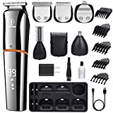 Ceenwes Beard Trimmer for Men 6 In 1 Hair Clippers