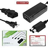 xbox 360 console and cords - Xavengar 135W AC Adapter Power Supply Cord for Xbox 360 Slim Console with Power Cable