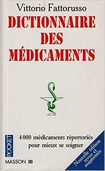 Book Le dictionnaire des médicaments