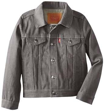Levi's Little Boys' Trucker Jacket Rigid Silver, 4