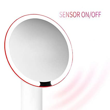 Beau Miroir De Doble Cara, LED Iluminado Espejo cosmético – Espejo cosmético Iluminado; 1