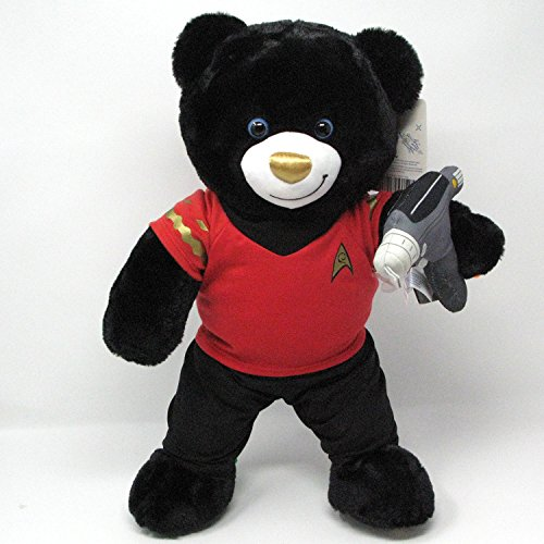 Build A Bear Musical Star Trek Teddy Bear in Red Star Trek Costume with Phaser Accessory (Star Trek Costumes Images)