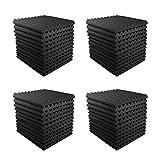 JBER 12 Pack Acoustic Panels Studio Foam Wedges