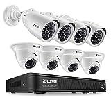 ZOSI 720p HD-TVI Home Surveillance Camer...