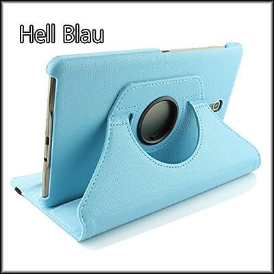 Funda Galaxy Tab S 8.4 Tablet , URCOVER Estuche Protector 360 Grados con Soporte Plegable Horizontal y Vertical Giratorio Azul Claro: Amazon.es: Electrónica
