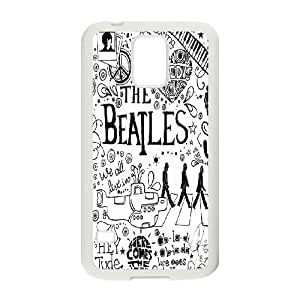 Music Band The Beatles Pattern Productive Back Phone Case For Samsung Galaxy S5 -Style-15