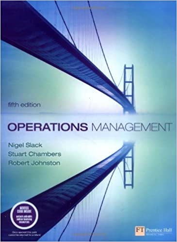 Operations Management (5th Edition)
