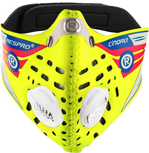 Respro-Cinqro-Anti-Pollution-Mask-Yellow-Medium