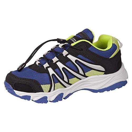 Mountain Warehouse Zapatillas para correr Champions para niños azul