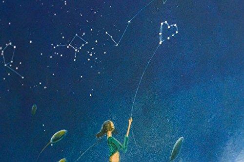 40 p/áginas, 22 x 22 cm PANODIA 271088 Artiste dise/ño de Cielo Estrellado /Álbum de Fotos Tipo Libro