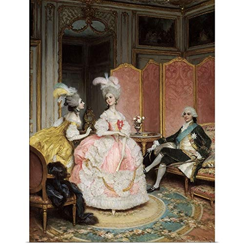 - GREATBIGCANVAS Poster Print Entitled French Brothel in 18th Century, 19th Century French Painting by French School 18