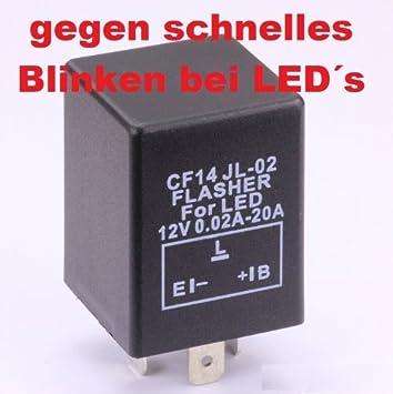 Blinkrelais CF14 Relais Blinker für LED Lampe lastenunabhängig zB ...