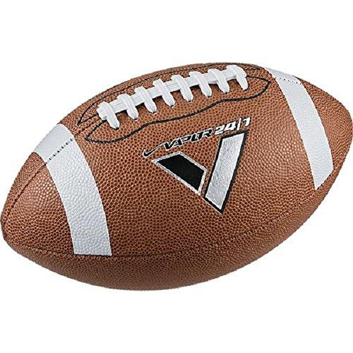 Nike Spiral - Nike Boy's Vapor 24/7 Peewee (Size 6) Football Brown/Black/White Size Pewee Size