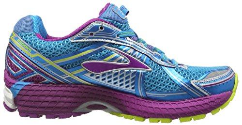 Brooks Adrenaline GTS Damen Laufschuhe Blau (HawaiianOcean/Hollyhock/LimePunch)