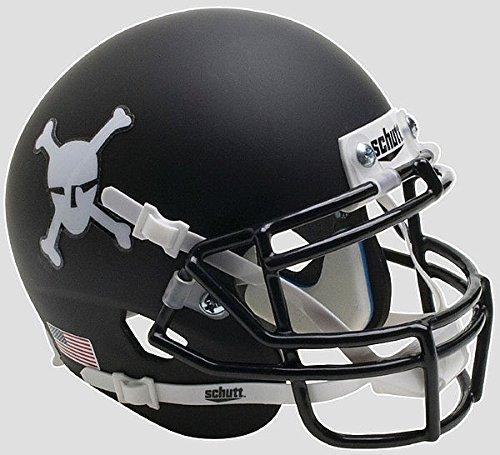 Schutt Army Black Knights Full XP Replica Football Helmet Matte Black (Black Replica Army Helmet Knights)