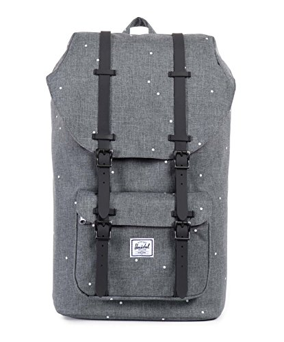 herschel-supply-co-little-america-rubber-scattered-charcoal-black-one-size