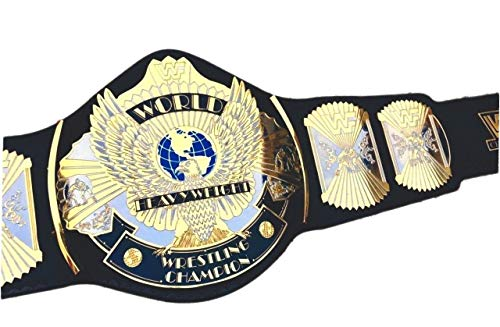 (vitalusa WWE WWF Classic Gold Winged Eagle Dual Plated Championship Replica Belt Adult Size)