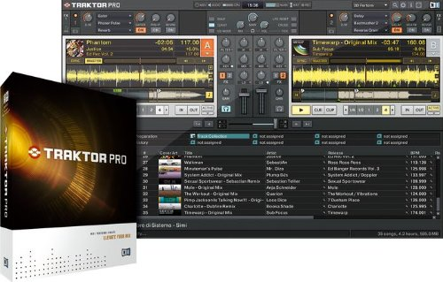 (Native Instruments TRAKTOR PRO)