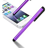 Insten Universal Touch Screen Stylus Compatible With iPad Mini 3 / iPad Air 2 / Barnes & Noble Nook Simple Touch with GlowLight , Purple