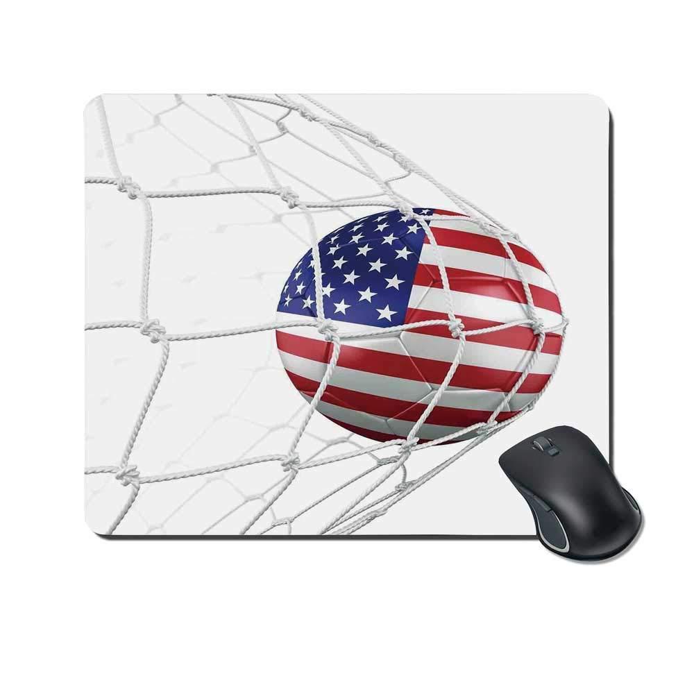 Cojín de ratón durable de la decoración de los deportes, balón de ...