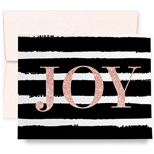 White Stripe Folded Note - 3