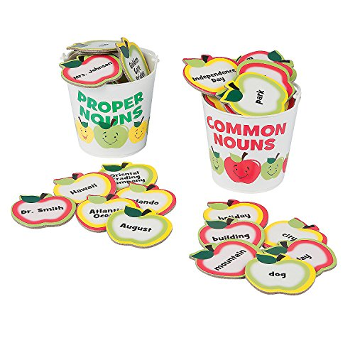 Fun Express - Common & Proper Noun Sorting Game - Educational - Teaching Aids - Language Arts - 52 Pieces]()