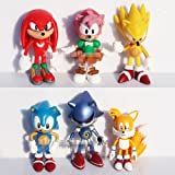 Sonic The HEDGEHOG Characters PVC 2.2