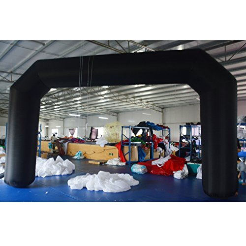 Line Blower (Sayok Outdoor Advertising Inflatable Arch with Air Blower (Black, 20FT))