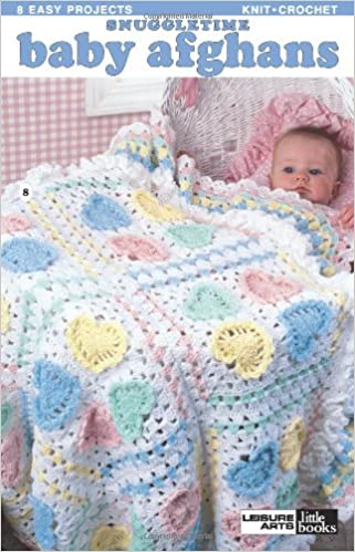 Snuggletime Baby Afghans Knitting And Crochet Patterns Leisure