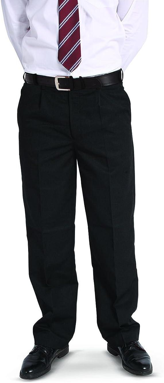 4D-Uniforms Boys Extra Sturdy Loose Fit Short Leg School Trouser