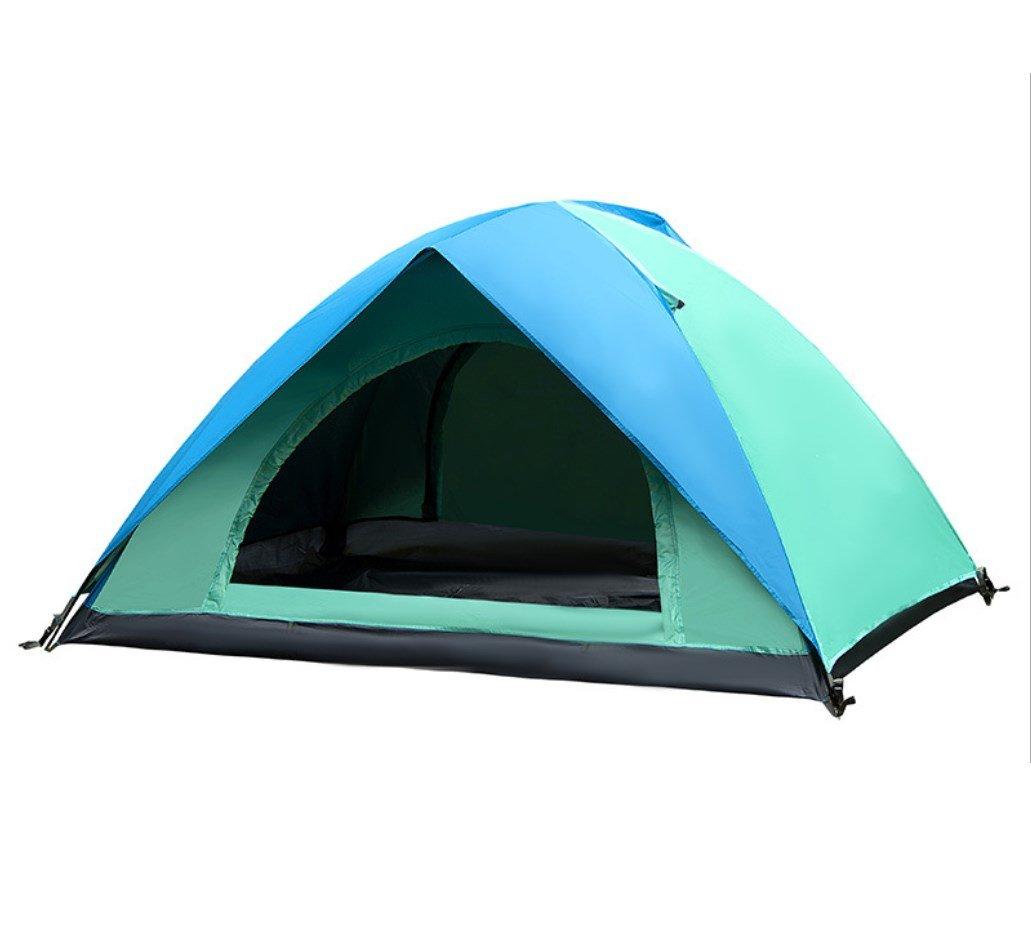 Camping Zelt Anti-Aufruhr Regen Zwei-Personen Strand Zelt Automatische Zelt Haushalte Außerhalb der UV Zelt ZXCV