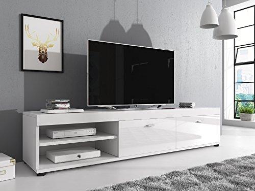 TV Möbel Konsole Tisch Schrank Elsa 140 cm Korpus Matt / Front ...