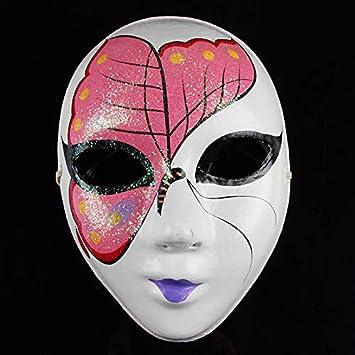 Máscara de Halloween Máscara de Disfraces Masculino Cara Completa ...