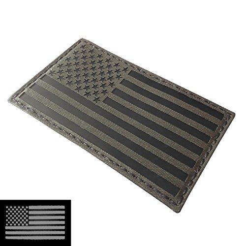 Big 3x5 Ranger Green Infrared IR USA American Flag Laser Cut IFF...