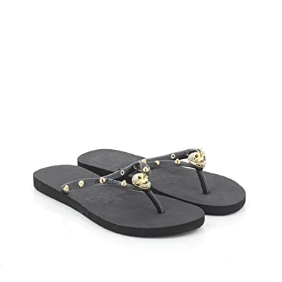 sneakers really cheap well known KOALA BAY Women's Spike Flip Flops, Black (Negro 002), 7.5 UK ...