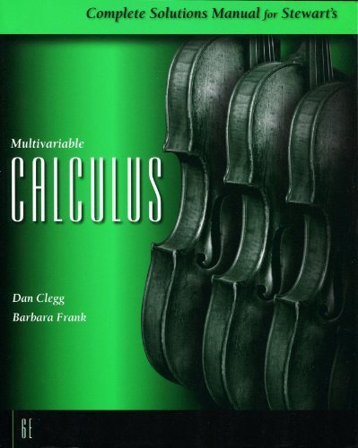 Complete Solutions Manual for Stewart's Multivariable Calculus