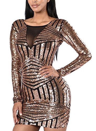 HOTAPEI Womens Sleeve Bodycon Dresses