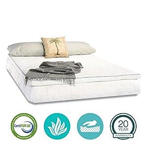 Saferest Mattress Protector Amazon.com: 13 Inch Pillow Top Aloe Vera Gel Memory Foam ...
