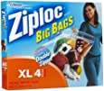 Ziploc XL HD Big Bag (4 Bags)