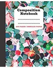 """Composition Notebook: Notebook Organizer,Planning Notebook,Work,Office,Business (100 Unruled pages [50 sheets], 7.5"""" x 9.25,Modern Cover)"""