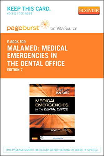 Medical Emergencies in the Dental Office - Elsevier eBook on VitalSource (Retail Access Card)