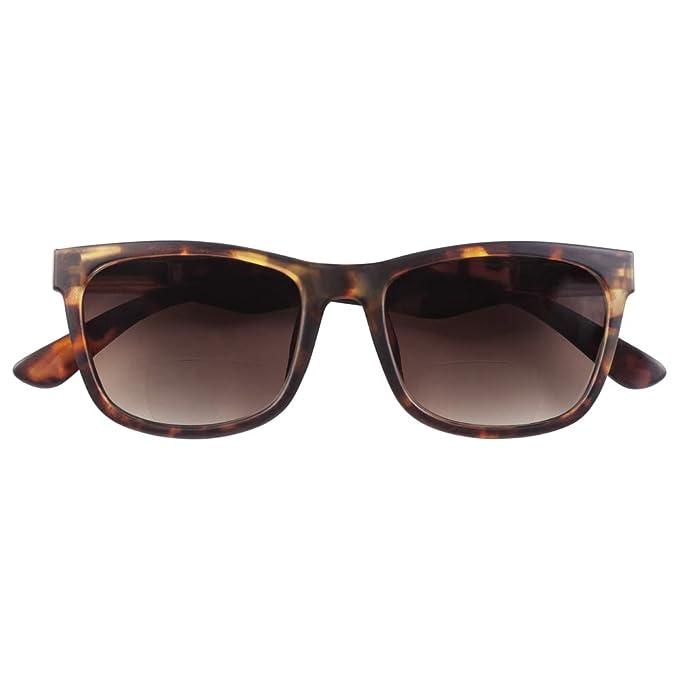 Babsee Gafas de sol de lectura bifocales NEIL Unisex en negro/marrón Colores de tortuga - Fuerza de aumento 1.50-3.0