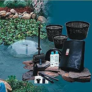 Clear Pond Complete In-Ground Backyard Pond Kit - 4ft. x 6ft. x 18in. Deep, Model# 71104