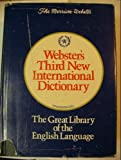 img - for Webster's Third New International Dictionary of the English Language, Unabridged book / textbook / text book