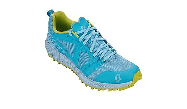 SCOTT Kinabalu – Zapatillas Trail Mujer, Blue/Light Blue, 40.5 ...